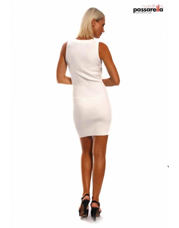Φόρεμα μίντι κουμπιά