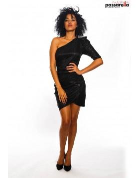 Φόρεμα λούρεξ με ένα ώμο