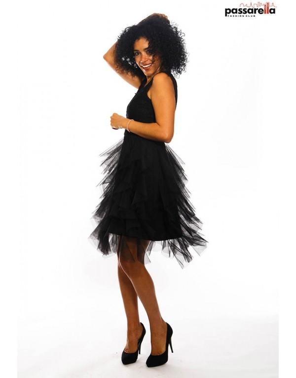 Φόρεμα μίντι tulle