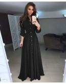 Φόρεμα μάξι με ζώνη