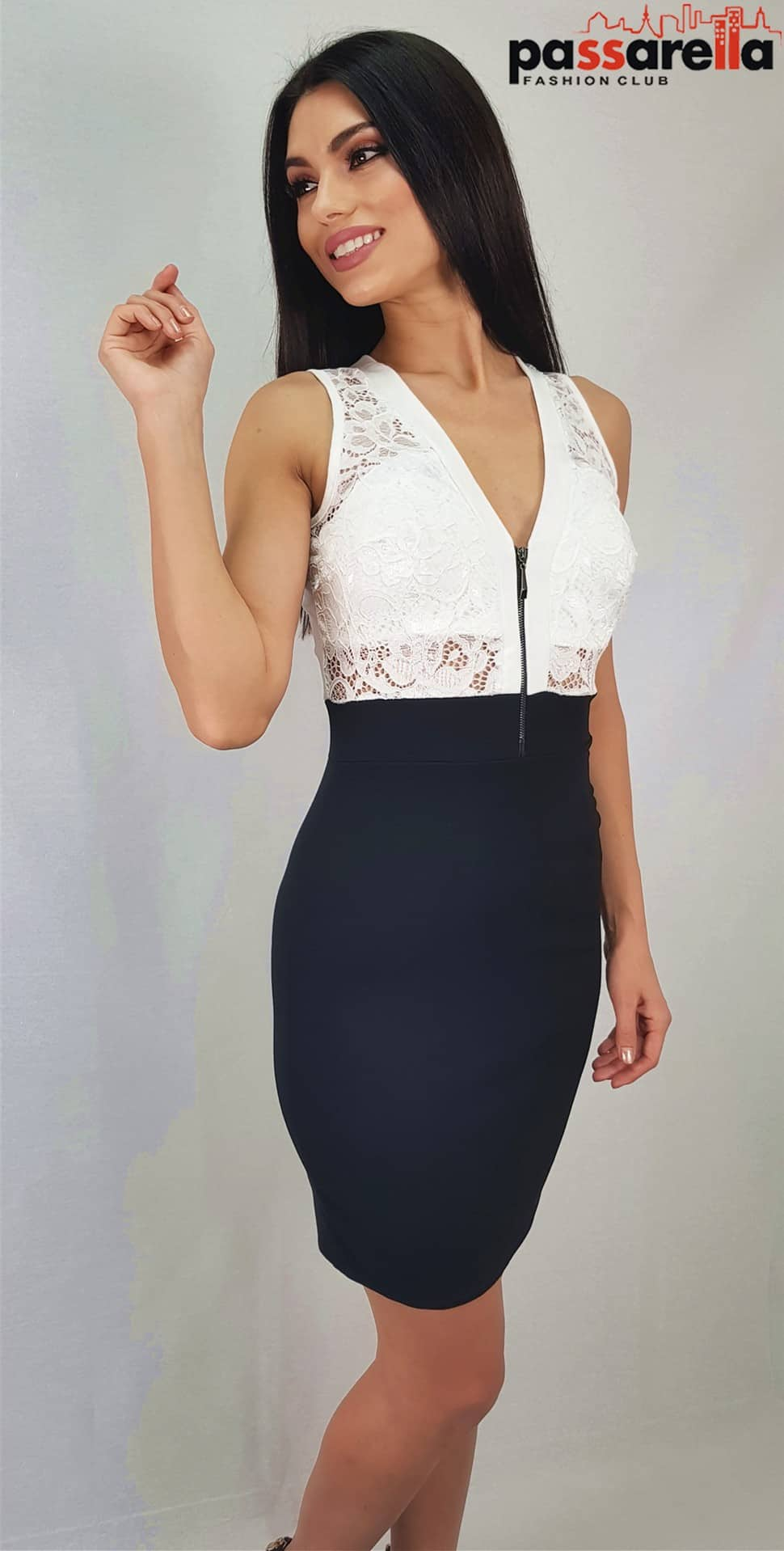 cb3951ae46a7 Φόρεμα ΜίνιDB004 - Passarella fashion club - eshop