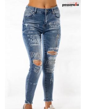 Παντελόνι jean stras