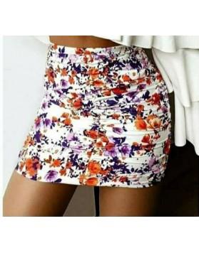 Φούστα floral mini VERAMAN