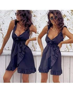 Φόρεμα εφαρμοστό ΜΑΥΡΟ