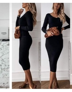 Φόρεμα ριπ μάξι ΜAYPO