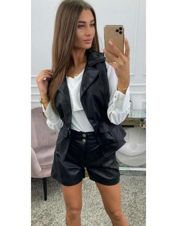 Φόρεμα fake leather mini