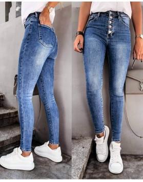 Παντελόνι jean skini κουμπιά