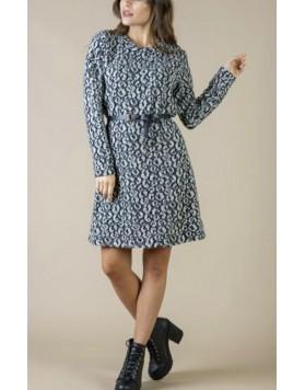 Φόρεμα midi print