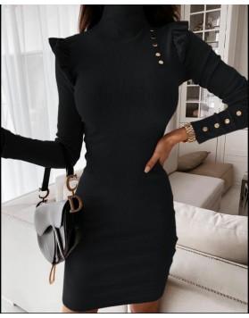 Φόρεμα ριπ ΜΑΥΡΟ