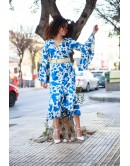 Φόρεμα μάξι BLUE