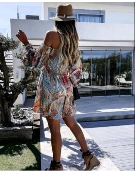 Φόρεμα off shoulder