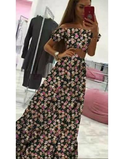 Σετ φλοράλ τοπ με φούστα MAYPO