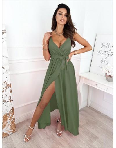 Φόρεμα ΧΑΚΙ saten